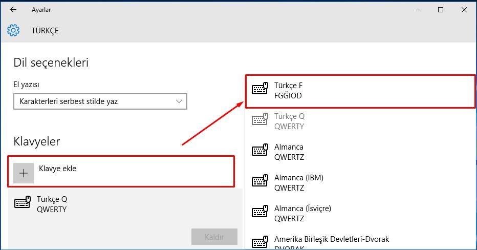 Windows 10 Klavye Değişikliği (4)
