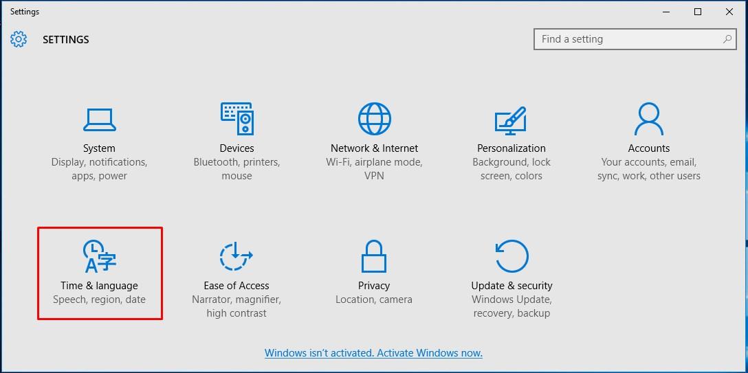 Windows 10 Türkçe Dil Paketi Yükleme (2)