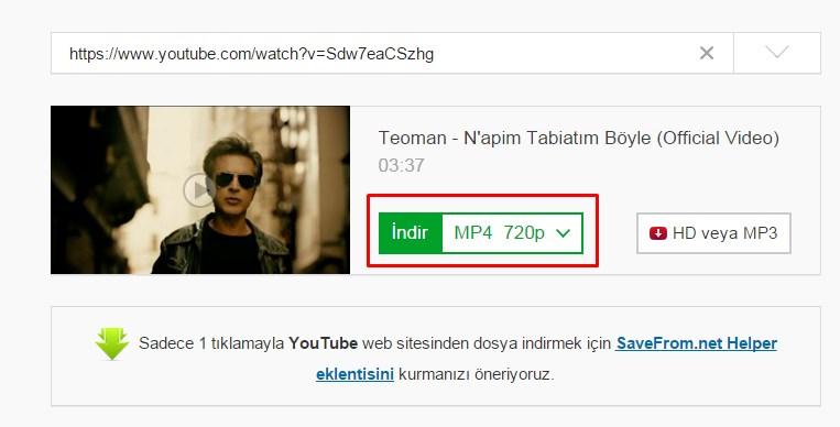 online youtube indir-2