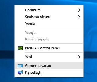 windows 10 ekran çevirme (1)