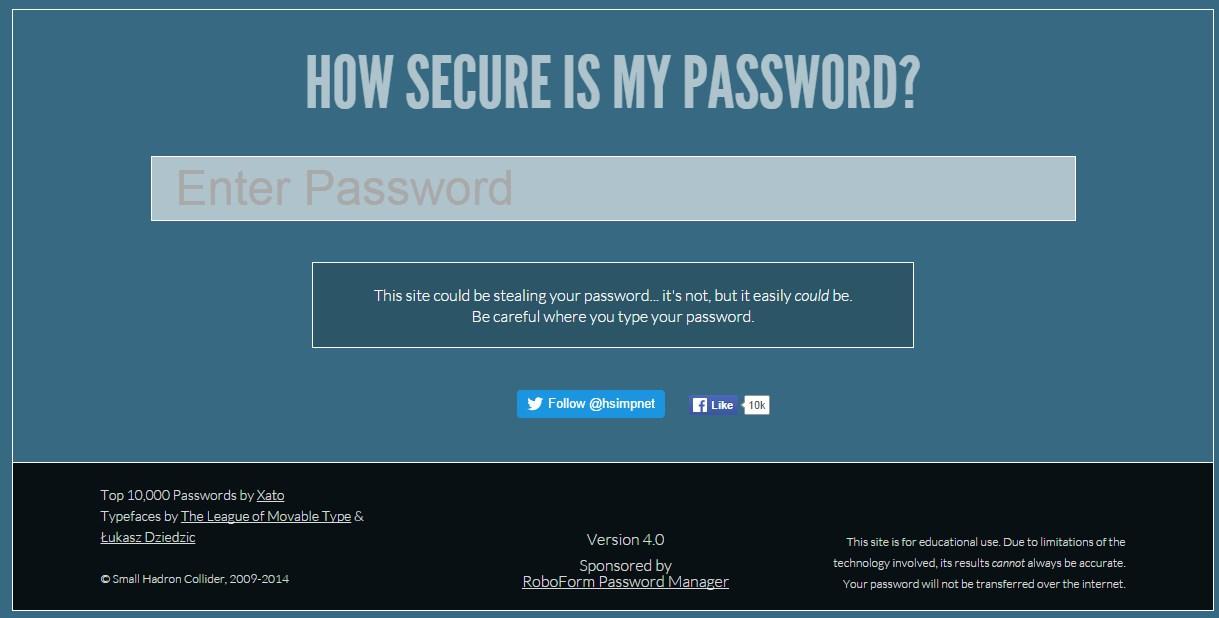 şifrem ne kadar sürede kırılır