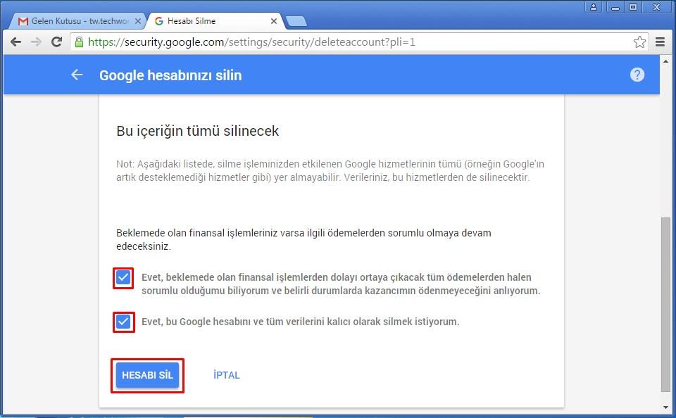 gmail hesabı silme (5)