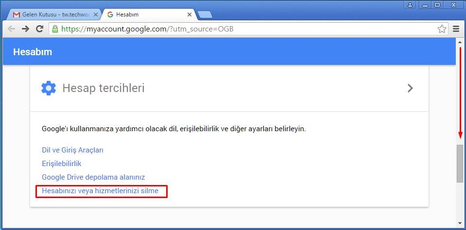 gmail hesabı silme (3)