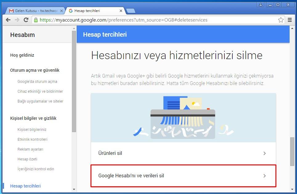 gmail hesabı silme (4)