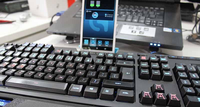 logitech g910 telefon