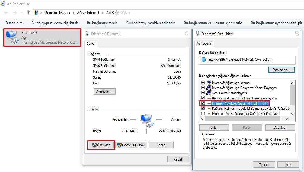 windows 10 yasaklı sitelere giriş (3)