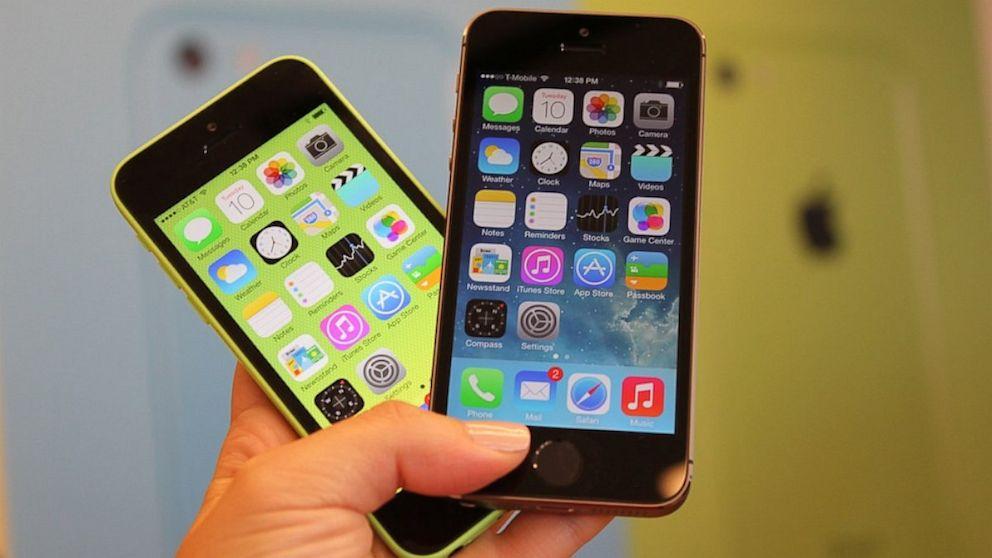 iphone serisi telefonları