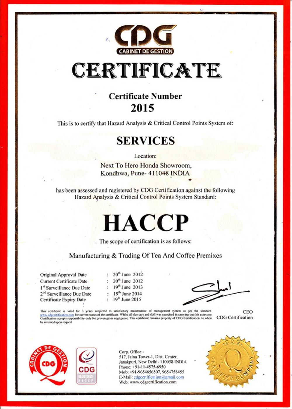 haccp-sertifika