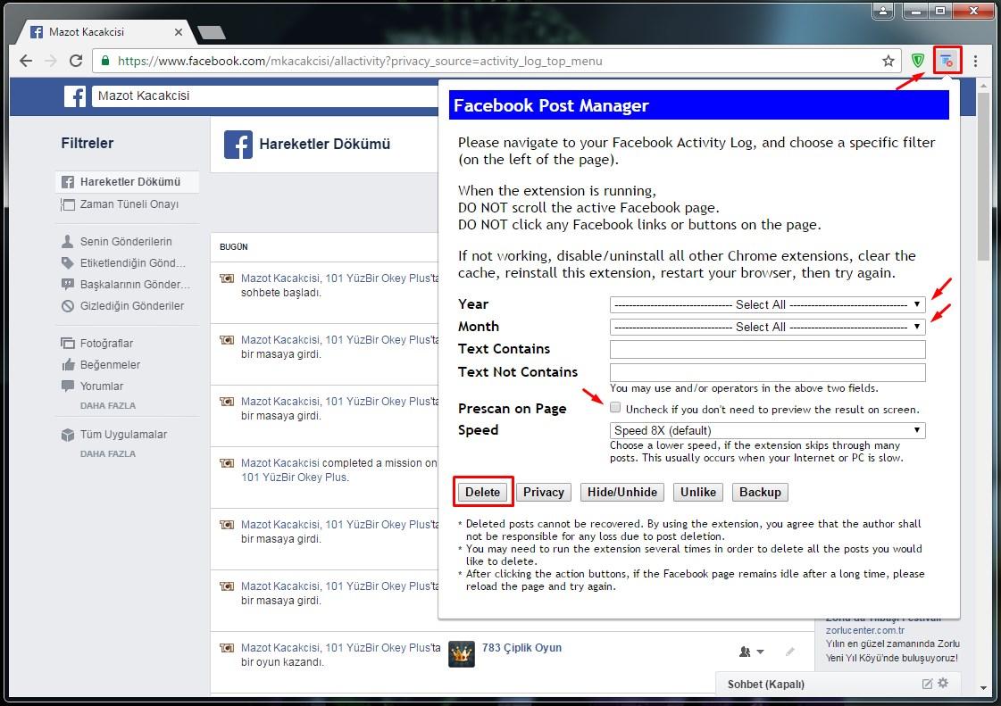 facebook-paylasimlarini-silme