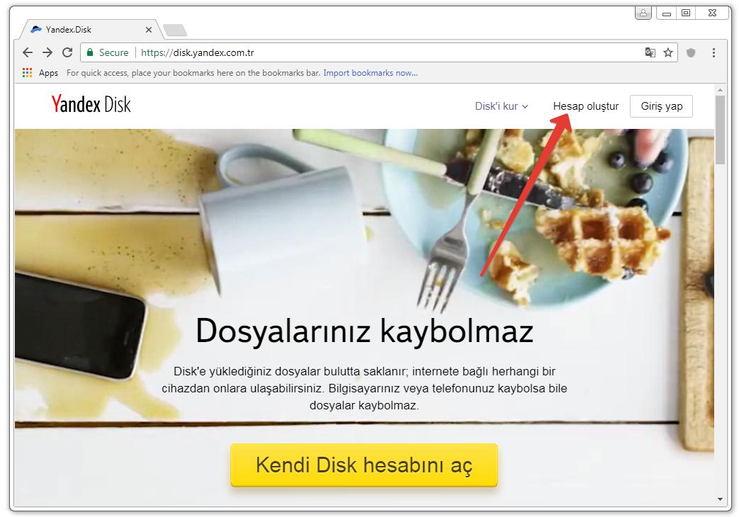 Yandex.Disk: yorumlar, yorum, kullanım