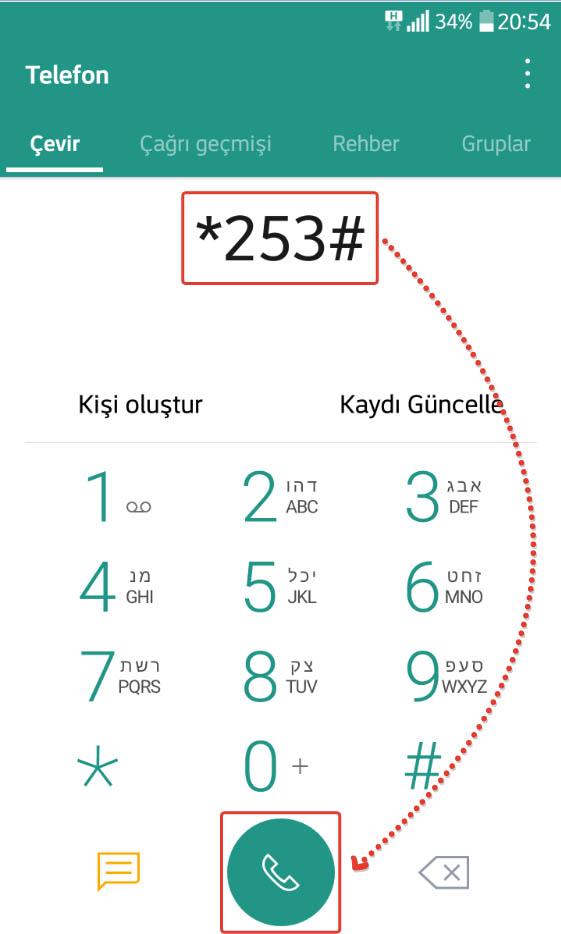 özel numaradan arama engelleme turkcell
