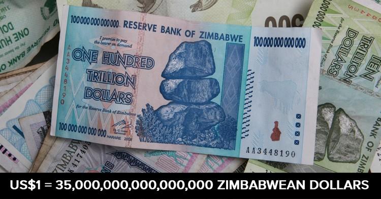 zimbabwe doları ile ilgili görsel sonucu